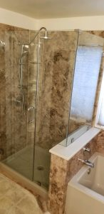 shower picture example job
